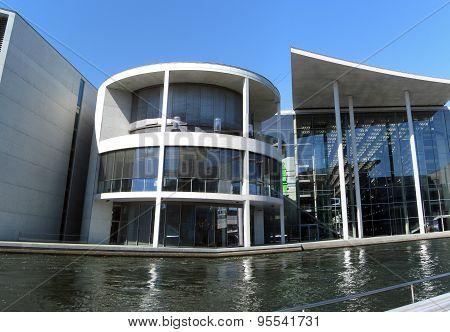 The German Parliament Building in Berlin