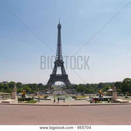 Eiffel Tower From A Distance