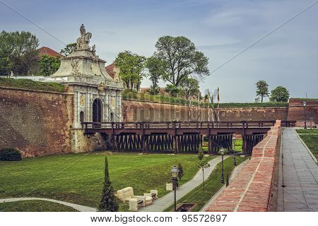 Third Gate, White Carolina Citadel, Alba Iulia