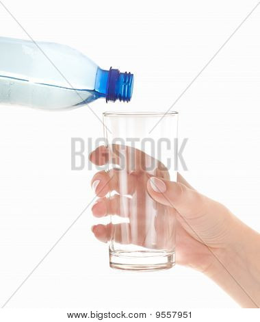 Concept Of Gasping For A Drink
