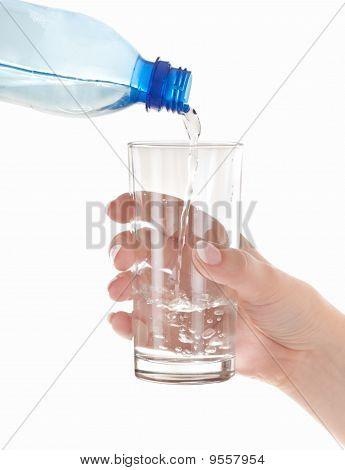 Fresh Clean Water From Bottle