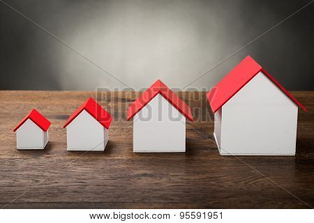 Different Size Houses