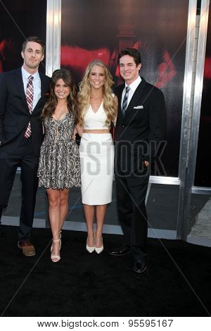 LOS ANGELES - JUL 7:  Ryan Shoos, Pfeifer Brown, Cassidy Gifford, Reese Mishler at the