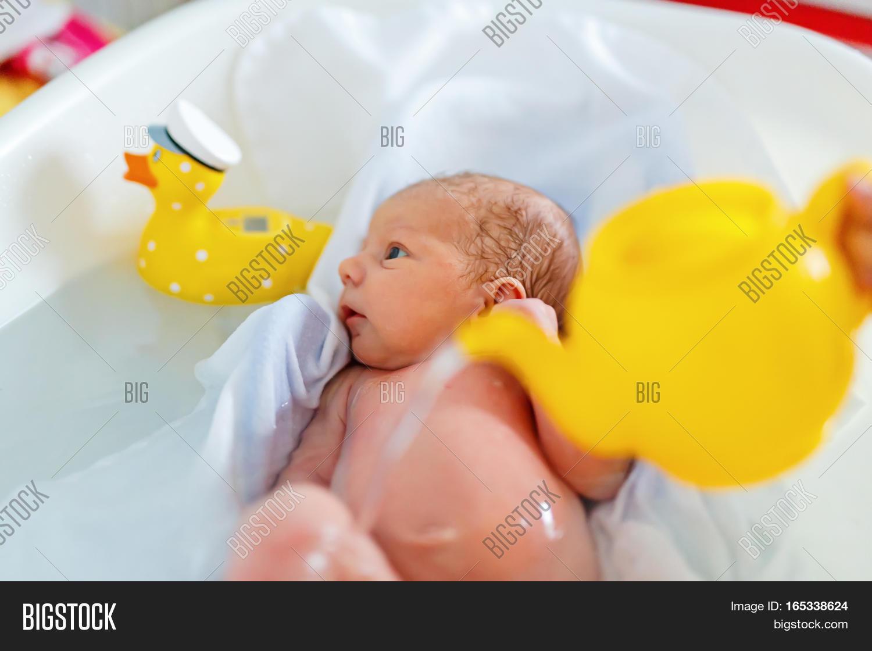 Cute Adorable Newborn Image & Photo (Free Trial) | Bigstock