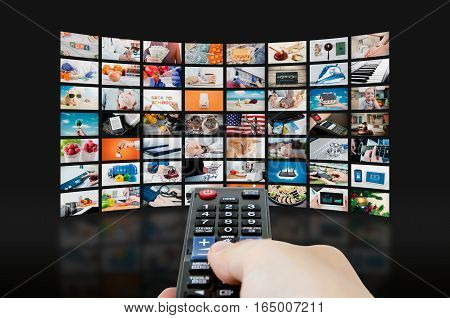 Multimedia Video Wall Television Broadcast