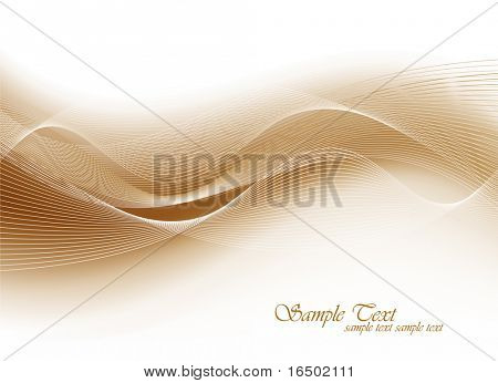 Pastel Toned Soft Waves - Vector Background