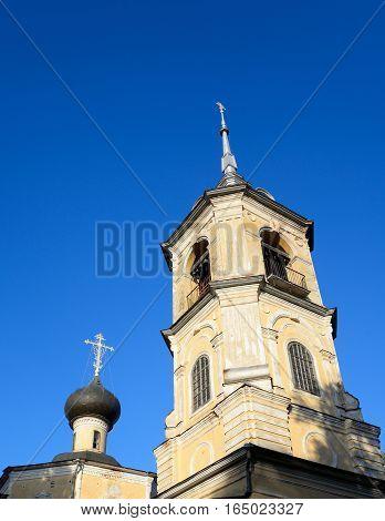 Church of St. John the Baptist in Roschene in Vologda Russia.