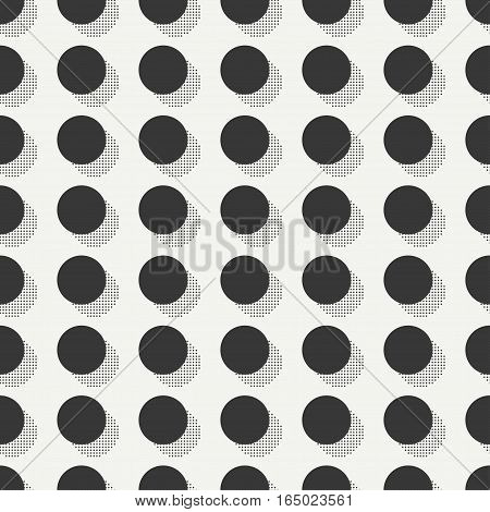 Retro memphis geometric line shapes seamless patterns. Hipster fashion 80-90s. Abstract jumble textures. Black and white. Circle, round, dot. Memphis style for printing, design, poster.