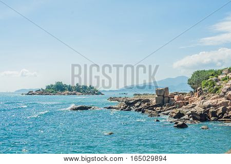 Hon Chong Cape, Garden Stone, Popular Tourist Destinations At Nha Trang. Vietnam
