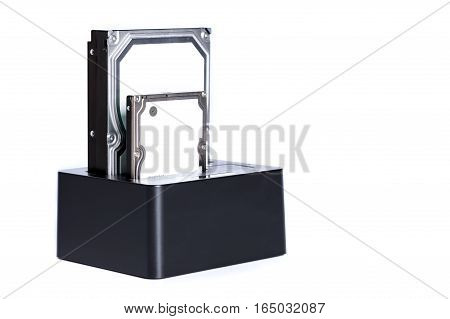 hdd hard disc drive backup in dock station
