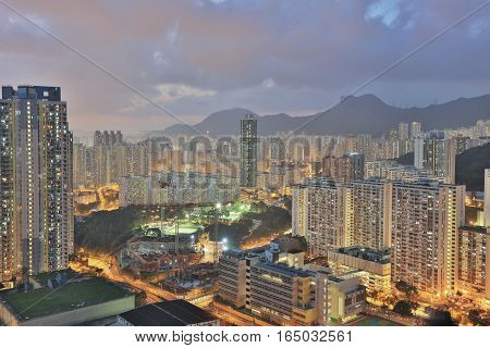 Jordan Valley Ping Shan view of kowloon 2016