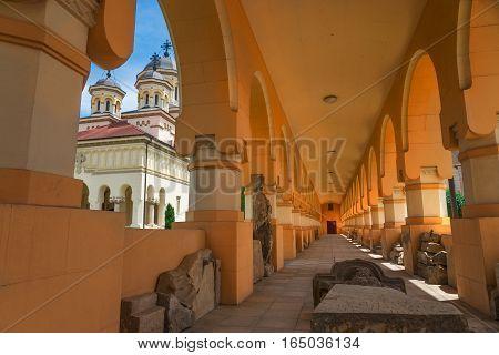 Alba Iulia is a city in Transylvania Romania