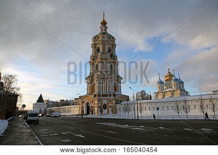 Russia. Moscow. Novospassky Monastery (New monastery of the Saviour)