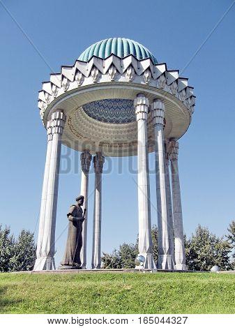 Alisher Navoi Memorial in Tashkent Uzbekistan September 12 2007