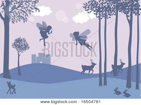 fairies forest