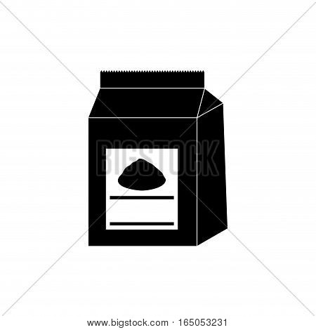 Baking powder bag icon vector illustration graphic design