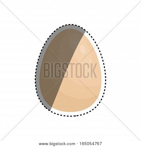 Isolated chicken egg icon vector illustration graphic design