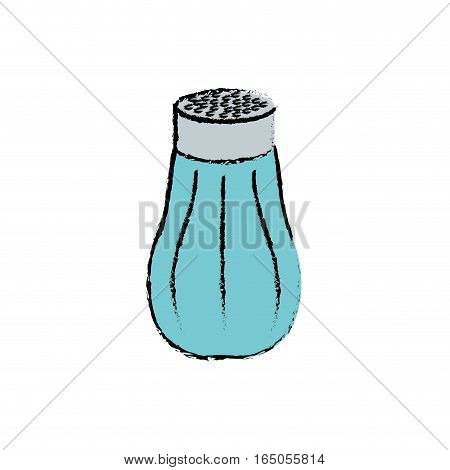 isolated salt shaker icon vector illustration graphic design