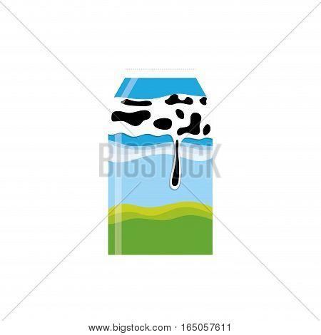 Fresh milk dairy icon vector illustration graphic design