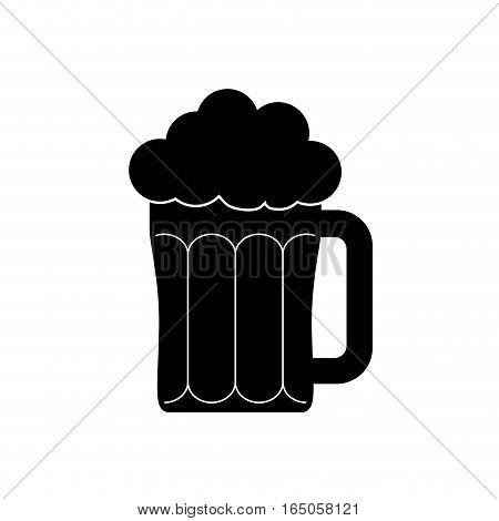 Glassof beer icon vector illustration graphic design