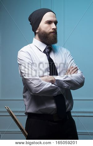 Man With A Beard