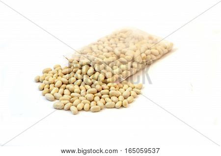 Organic gina bean seeds for hobby gardens and producers