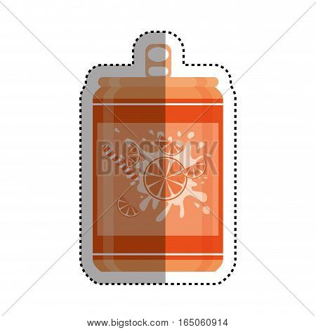 Delicious and fresh soda icon vector illustration graphic design