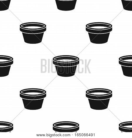 Cap for tattoo ink icon black. Single tattoo icon from the big studio black. - stock vector