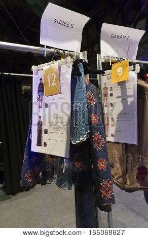 Desigual - Backstage - Spring 2017 Collection