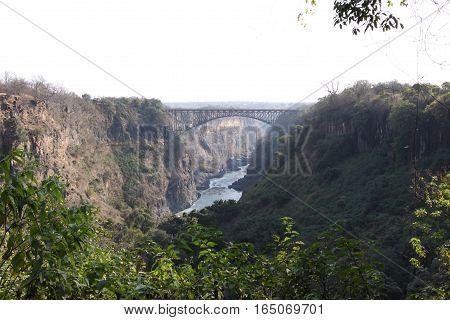 Colonial Bridge Africa Adventure Travel Border Zimbabwe