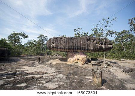 Thailand Isan Udon Thani Phu Phra Bat Narional Park