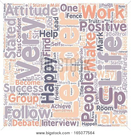 Be A Leader Not A Follower text background wordcloud concept