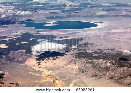 Mono Lake And Paoha Island, Yosemite National Park