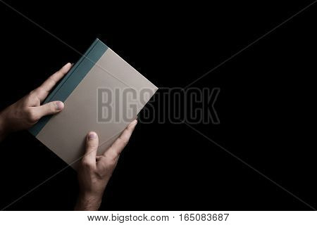 Book In Male Hands