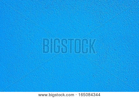 Blue wall background in the big room