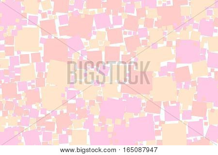 Abstract Background With Random Blocks. Pattern For Web Concept.