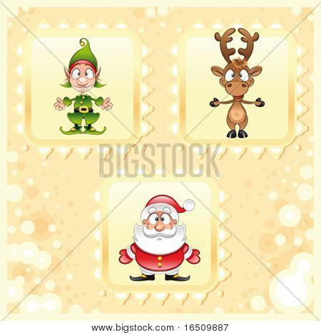 SantaClaus, and Elf