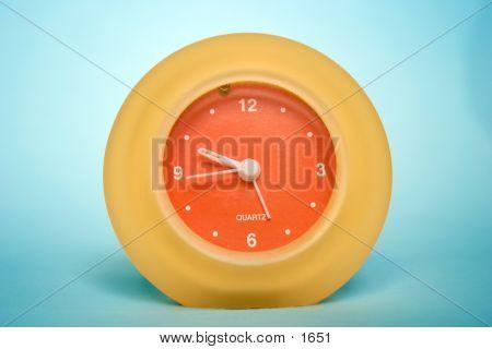 Orange Yellow Clock 2