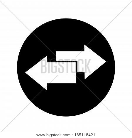 an images of Or pictogram arrow icon illustration design