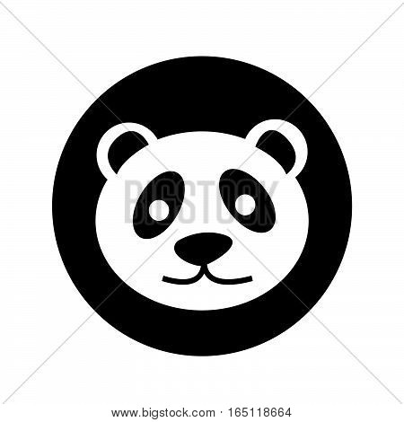 an images of Or pictogram panda icon