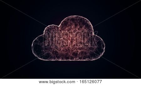 cloud computing from the chaotically slow moving connected points cloud technology cloud storage internet of things