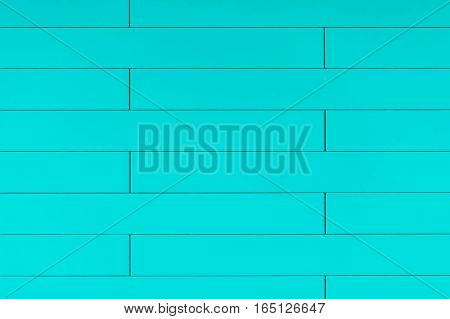 High Resolution Blue Plastic Wall Background With Brick Form
