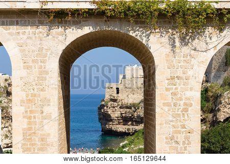 Polignano A Mare View, Apulia, Italy
