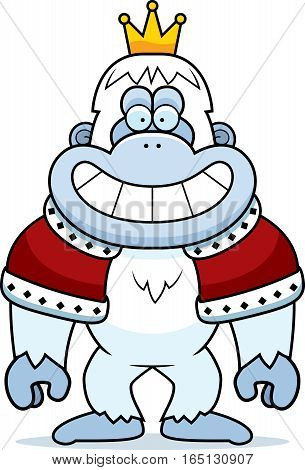 Cartoon Yeti King