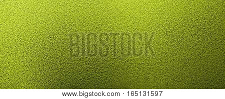 Metal, metal background, metal texture. Green metal texture, green metal background. Abstract metal background.