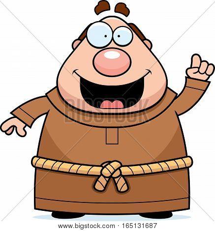 Cartoon Monk Idea