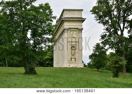 Neoclassical Colonnade