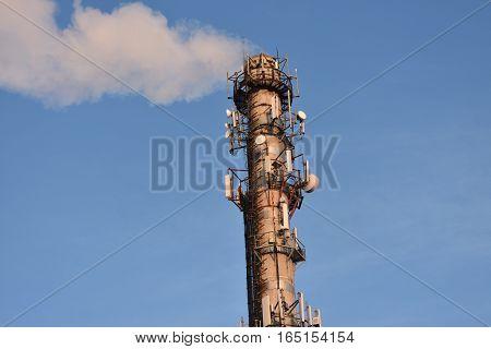flue pipe boiler  heating in homes Central otoplenie