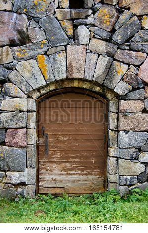 Fortress Door, Suomenlina Sea Fortress, Helsinki, Finland