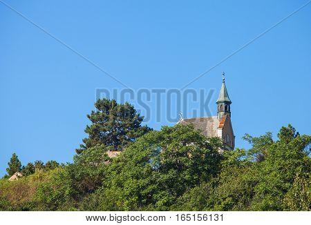 Small church in Sremski Karlovci town Fruska gora national park Serbia